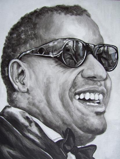 Ray Charles by geerke74